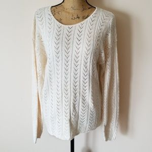 JM Studio crochet sweater